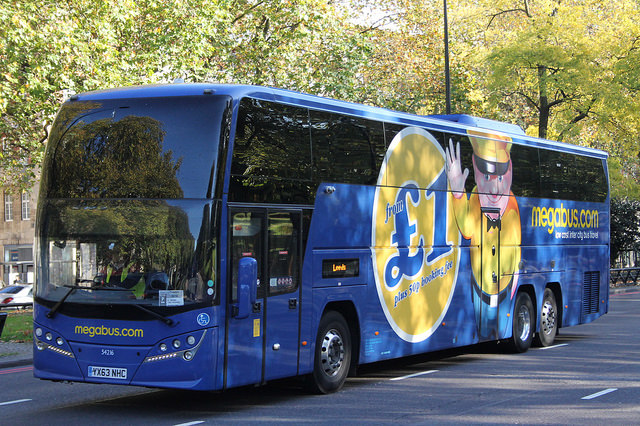 megabus london to amsterdam