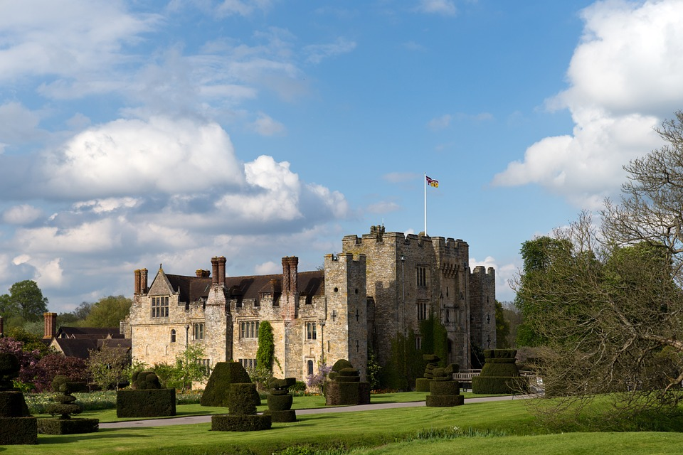 Hever Castle near London, England